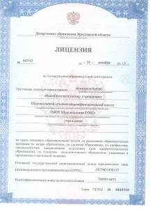 лицензия 2015г.